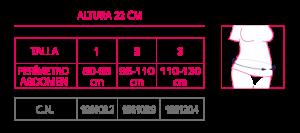 OMT621 Tabla tallas32