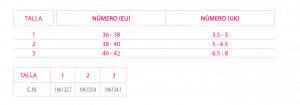 OMT900 Tabla tallas3