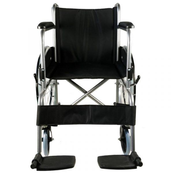 silla de ruedas plegable rueda grande ligera negro alcazaba mobiclinic 4