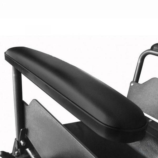silla de ruedas plegable ruedas pequenas reposapies y reposabrazos extraibles s230 sevilla top mobiclinic 1