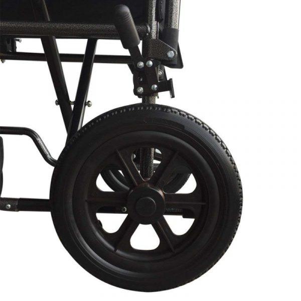 silla de ruedas plegable ruedas pequenas reposapies y reposabrazos extraibles s230 sevilla top mobiclinic 3