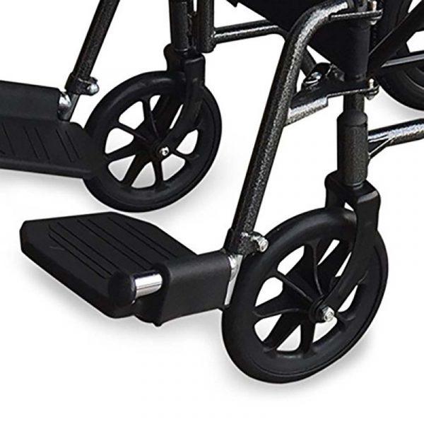 silla de ruedas plegable ruedas pequenas reposapies y reposabrazos extraibles s230 sevilla top mobiclinic 4
