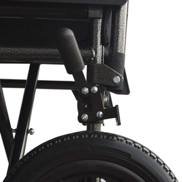 silla de ruedas plegable ruedas pequenas reposapies y reposabrazos extraibles s230 sevilla top mobiclinic 6